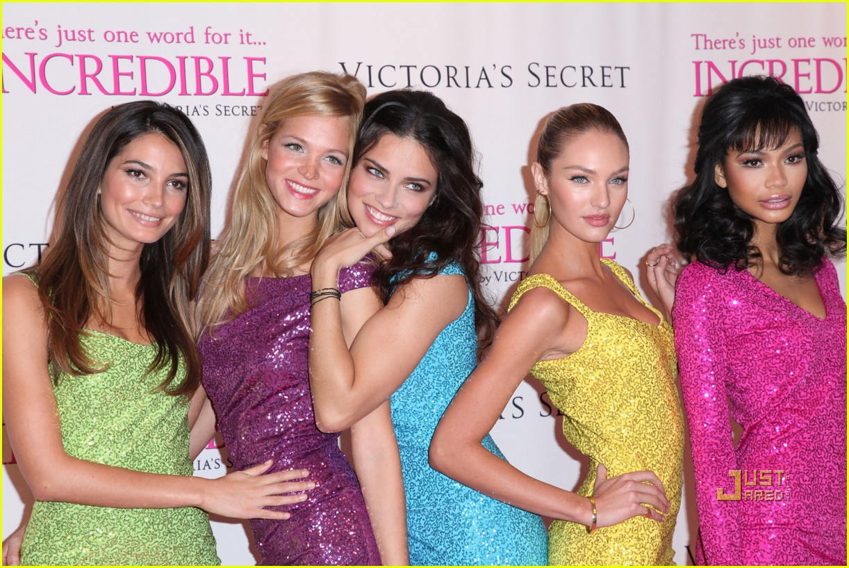 victorias secret angels incredible 062524244