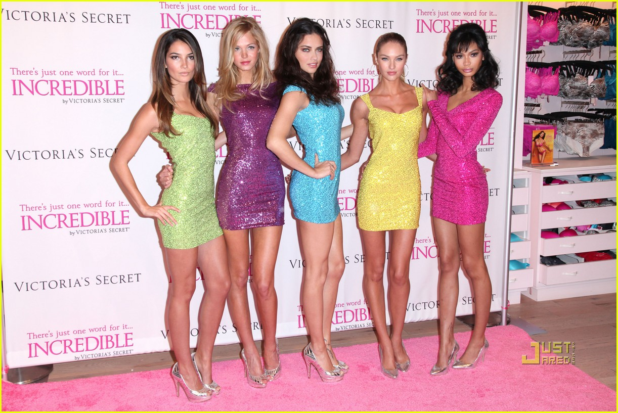 victorias secret angels incredible 162524254