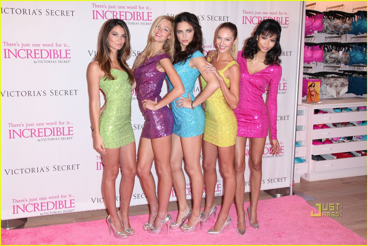 victorias secret angels incredible 30