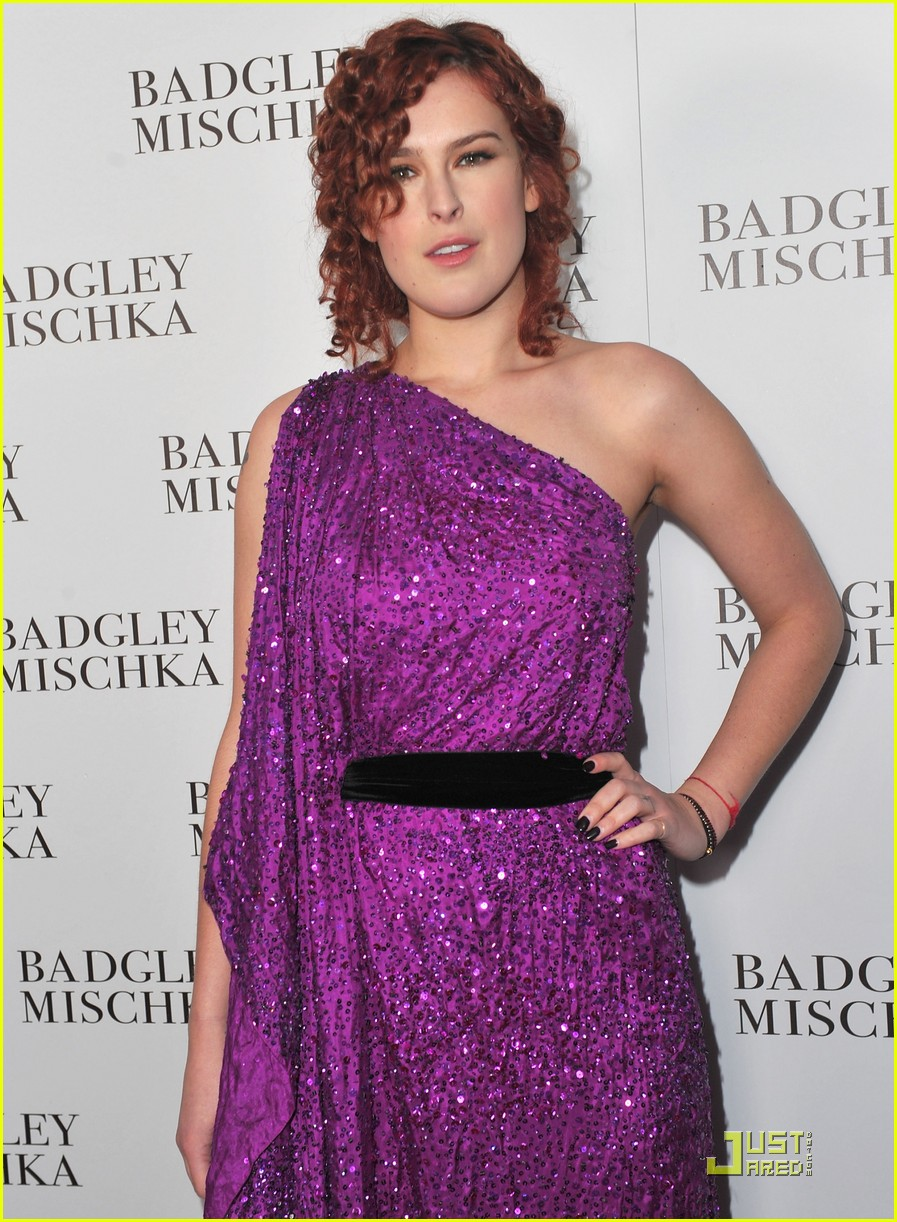 rumer willis badgley mischka flagship opening 02