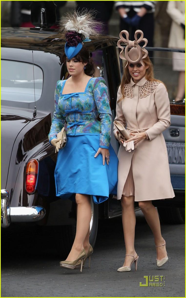 Princess Beatrice Amp Princess Eugenie Royal Wedding Photo 2539196 Princess Beatrice