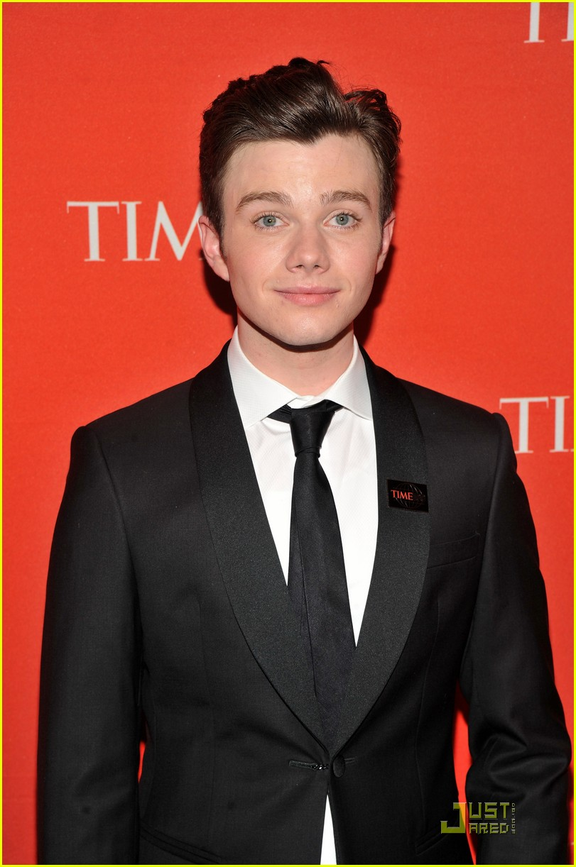 darren criss chris colfer time 100 gala 09