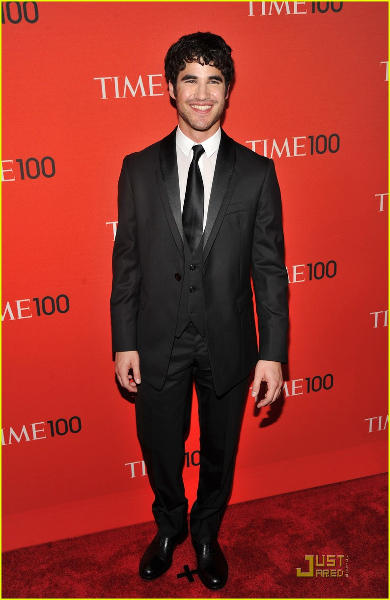 darren criss chris colfer time 100 gala 12