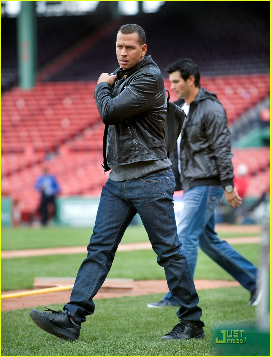 cameron diaz alex rodriguez fenway fan 05