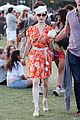dita von teese orange dress coachella 10