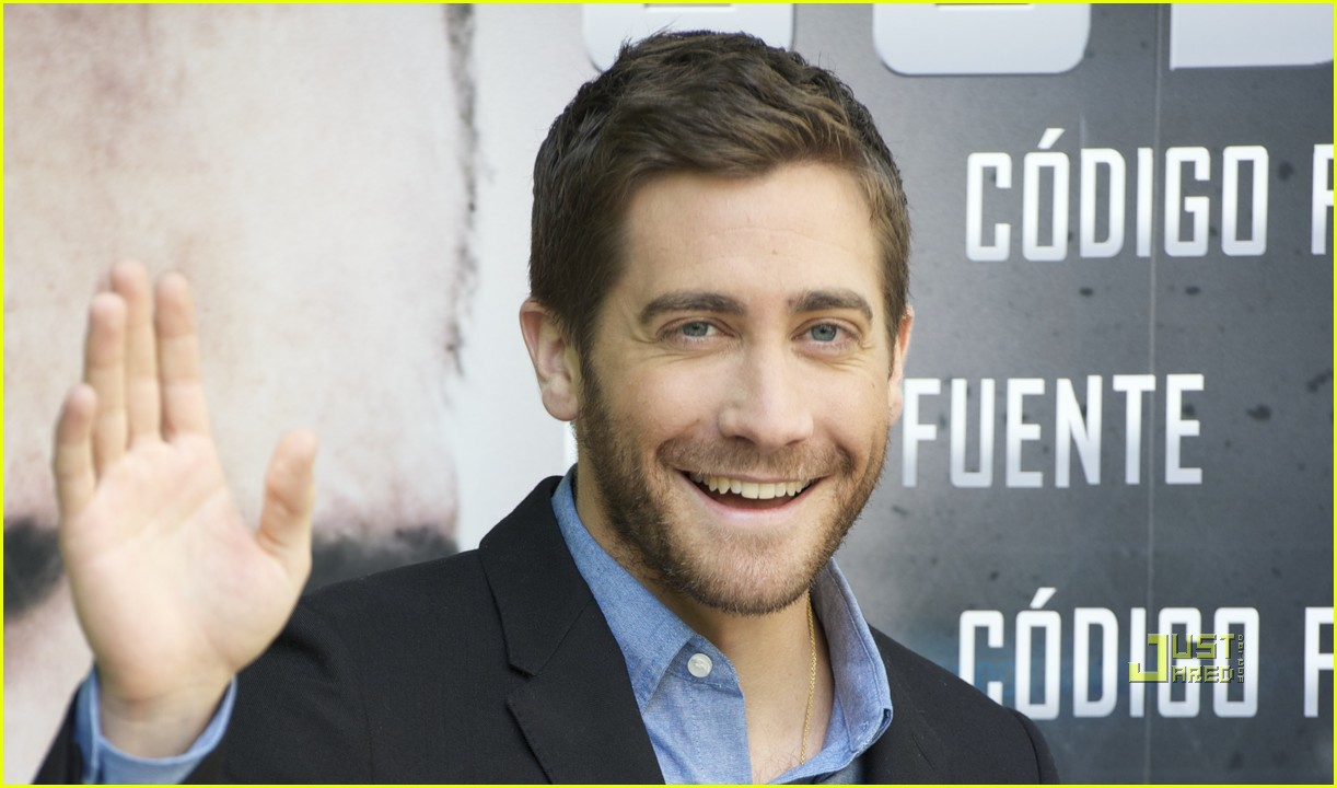 jake gyllenhaal source code madrid photo call 01