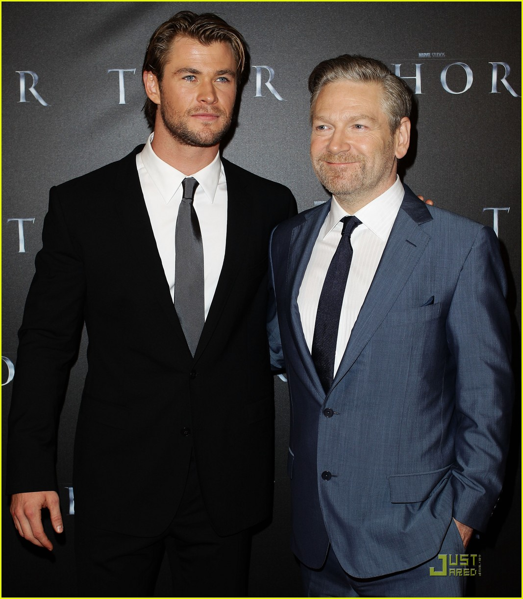 Chris Hemsworth: 'Thor' Premiere with Jaimie Alexander ...