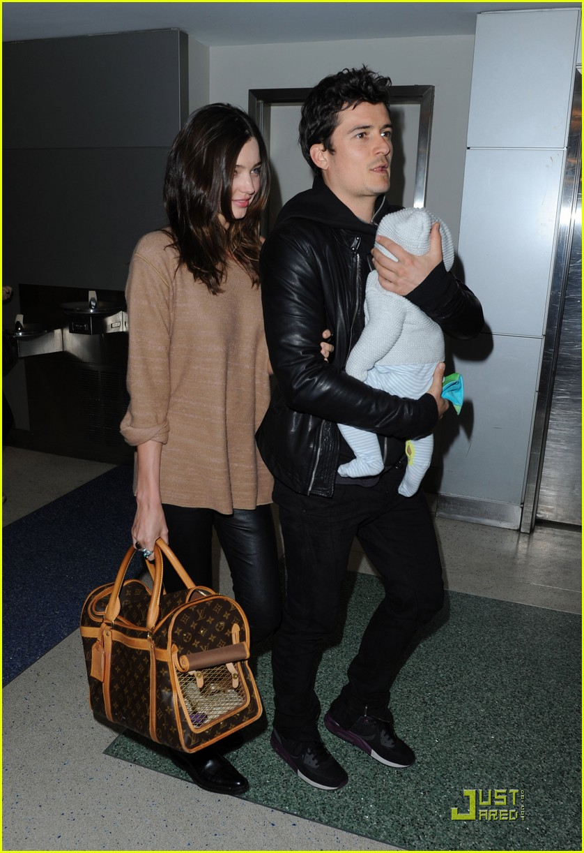 miranda kerr orlando bloom flying fun with flynn 012536467