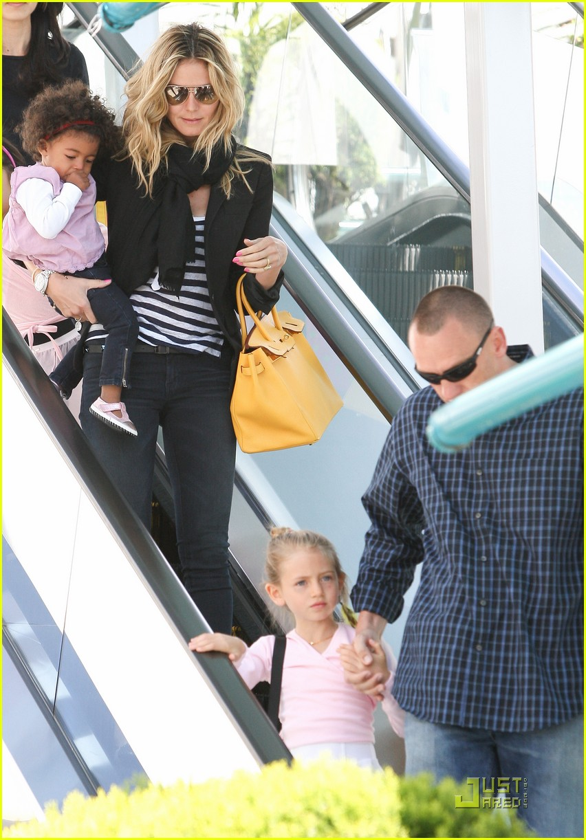heidi klum family time with the kids 17