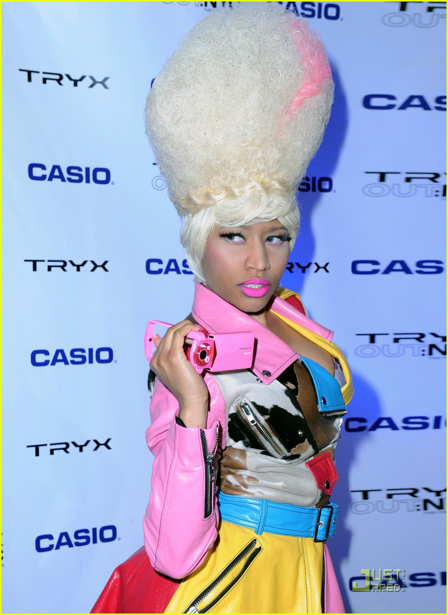 nicki minaj tryx out kickoff party 072533855