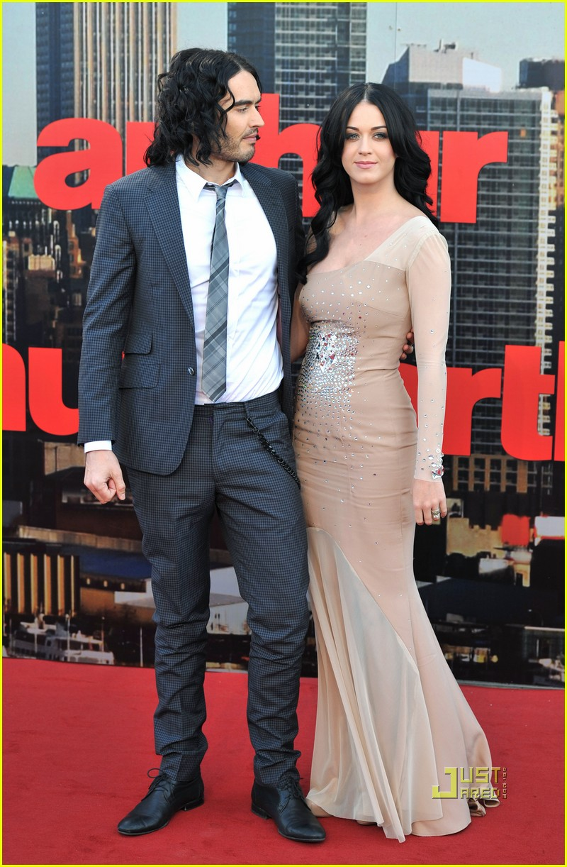 katy perry russell brand arthur uk premiere 07