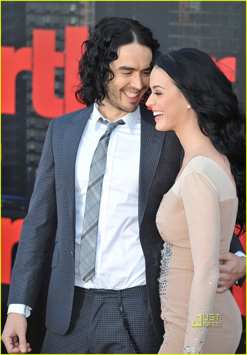 katy perry russell brand arthur uk premiere 09