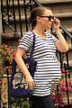 natalie portman baby bump striped tee 02