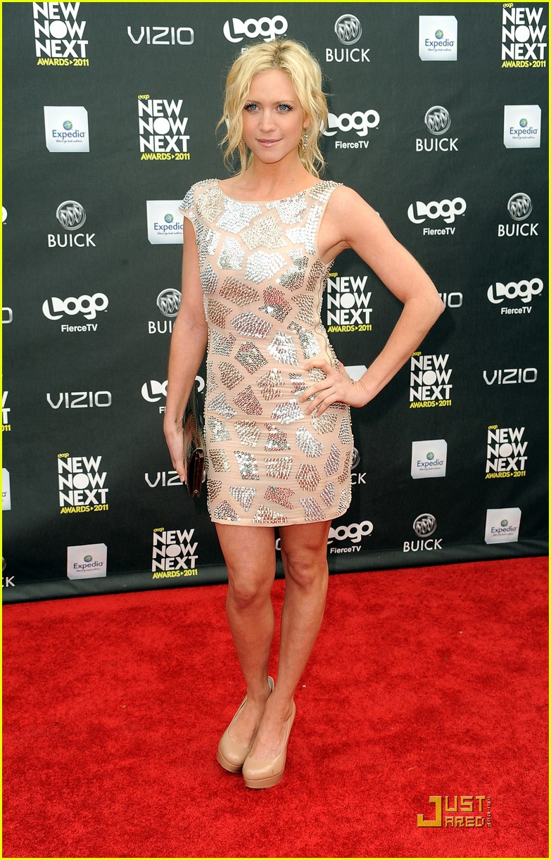brittany snow logos newnownext awards 2011 12