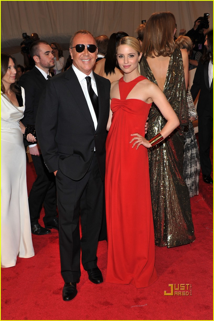 dianna agron met ball michael kors 01