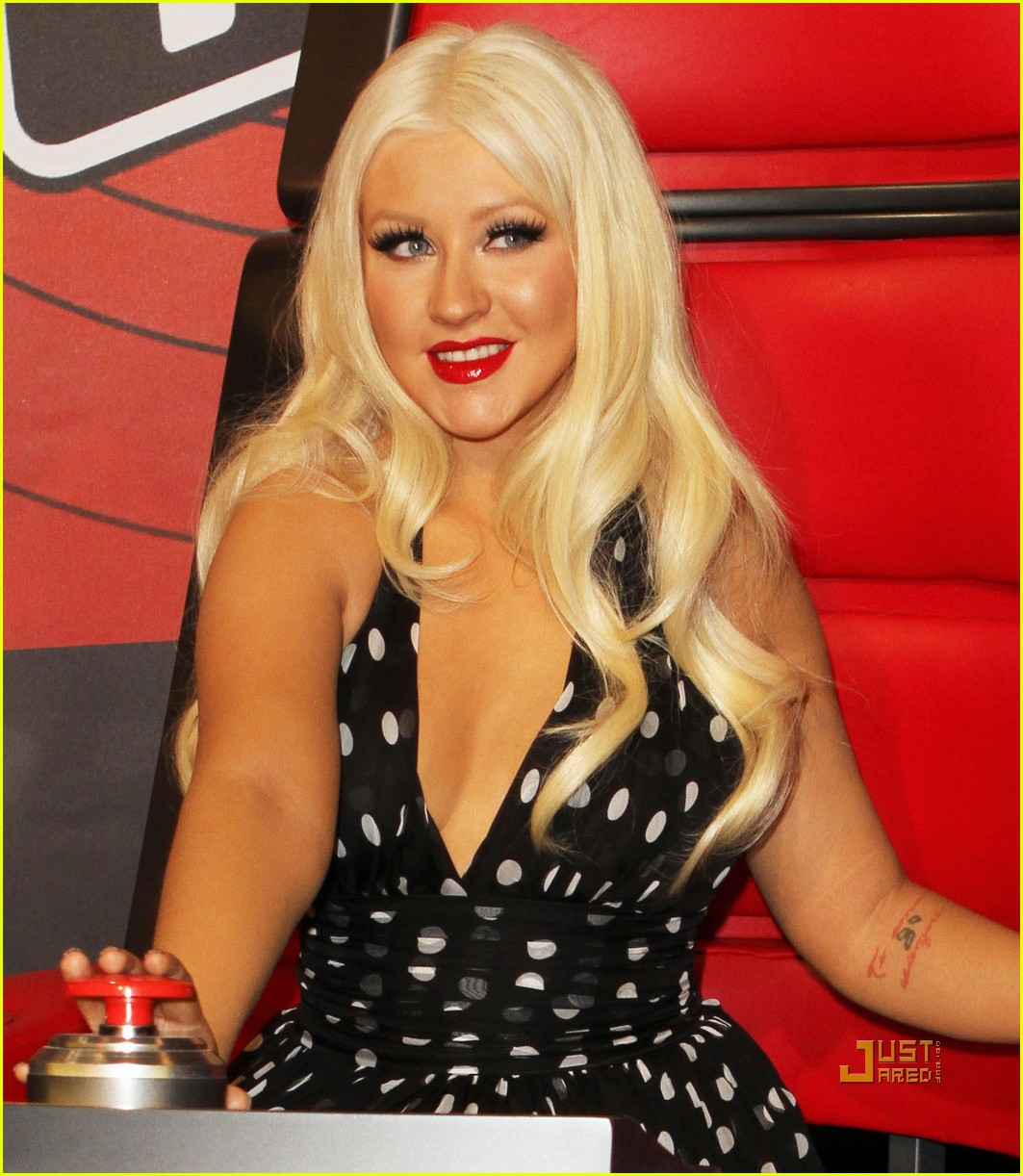 christina aguilera nbc upfronts 05