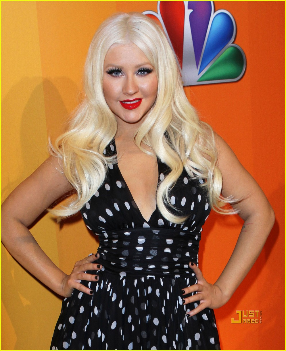 christina aguilera nbc upfronts 06