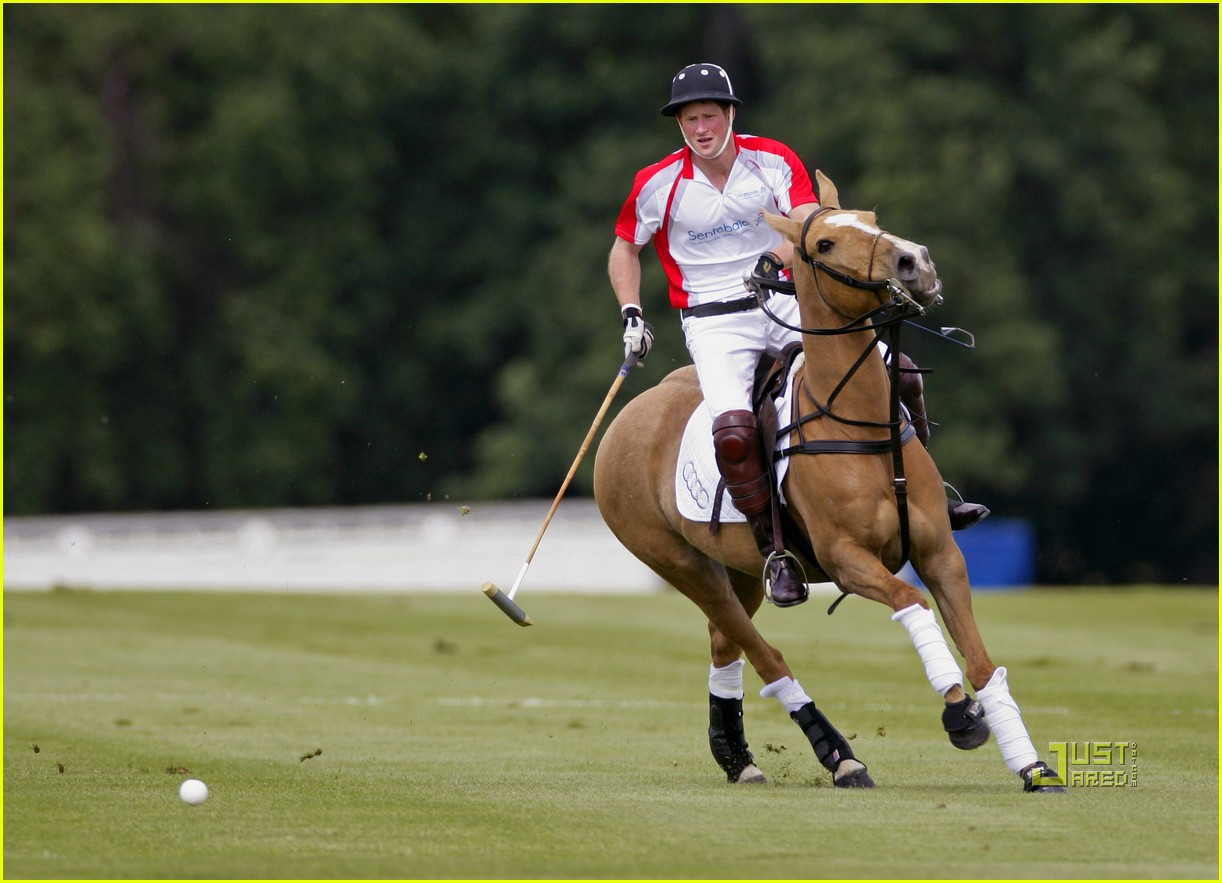 charlize theron prince harry polo 02
