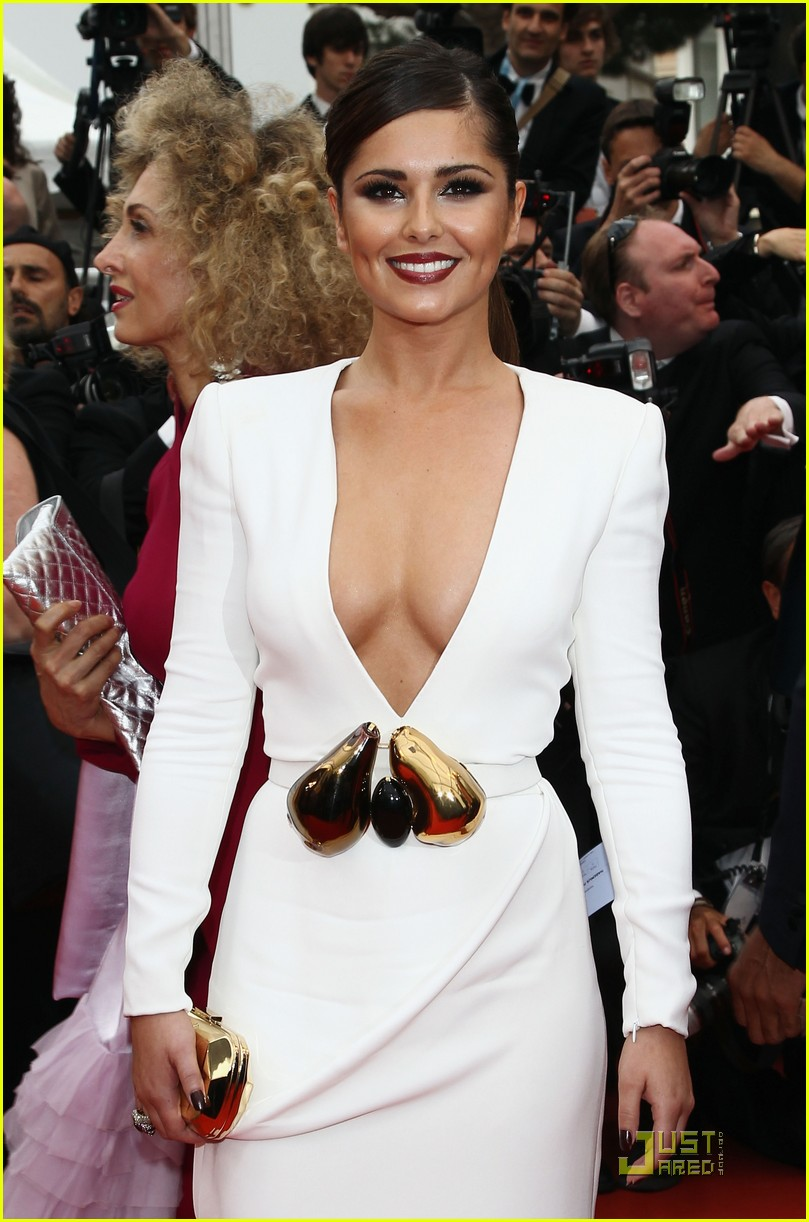 cheryl cole cannes film festival 08
