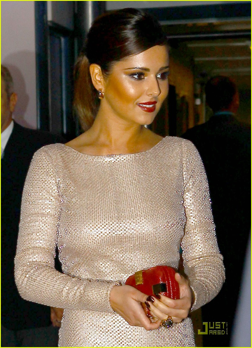 cheryl cole loreal party 072543655