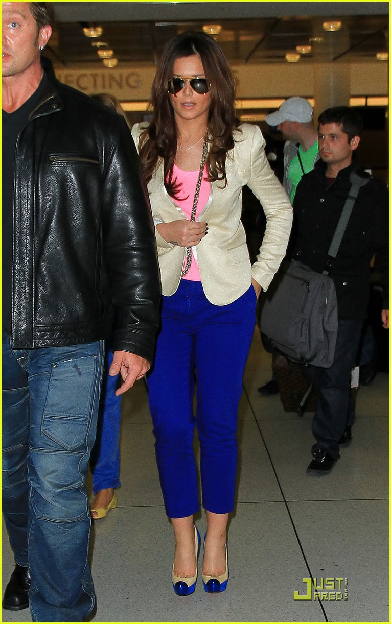 cheryl cole arrives in new york city 042544505