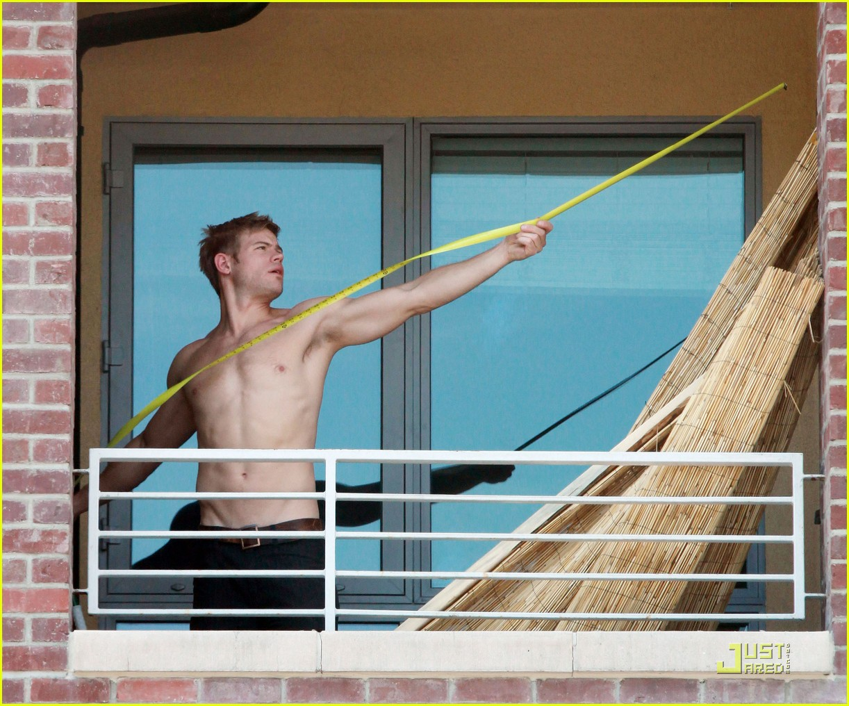 trevor donovan shirtless housework 072546605