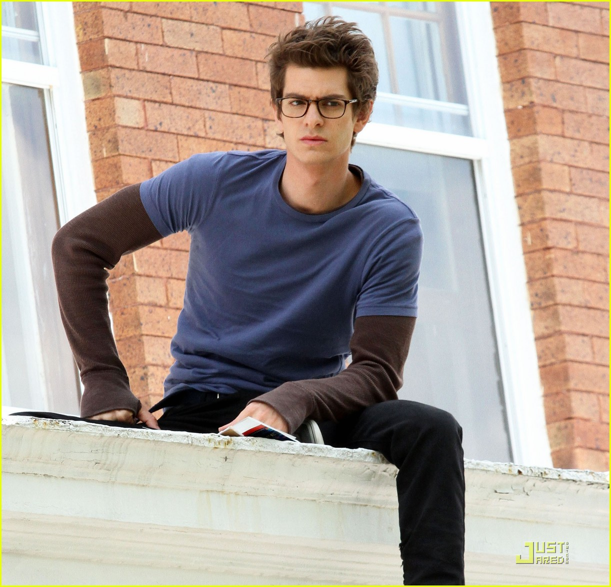 andrew garfield spidey set 02