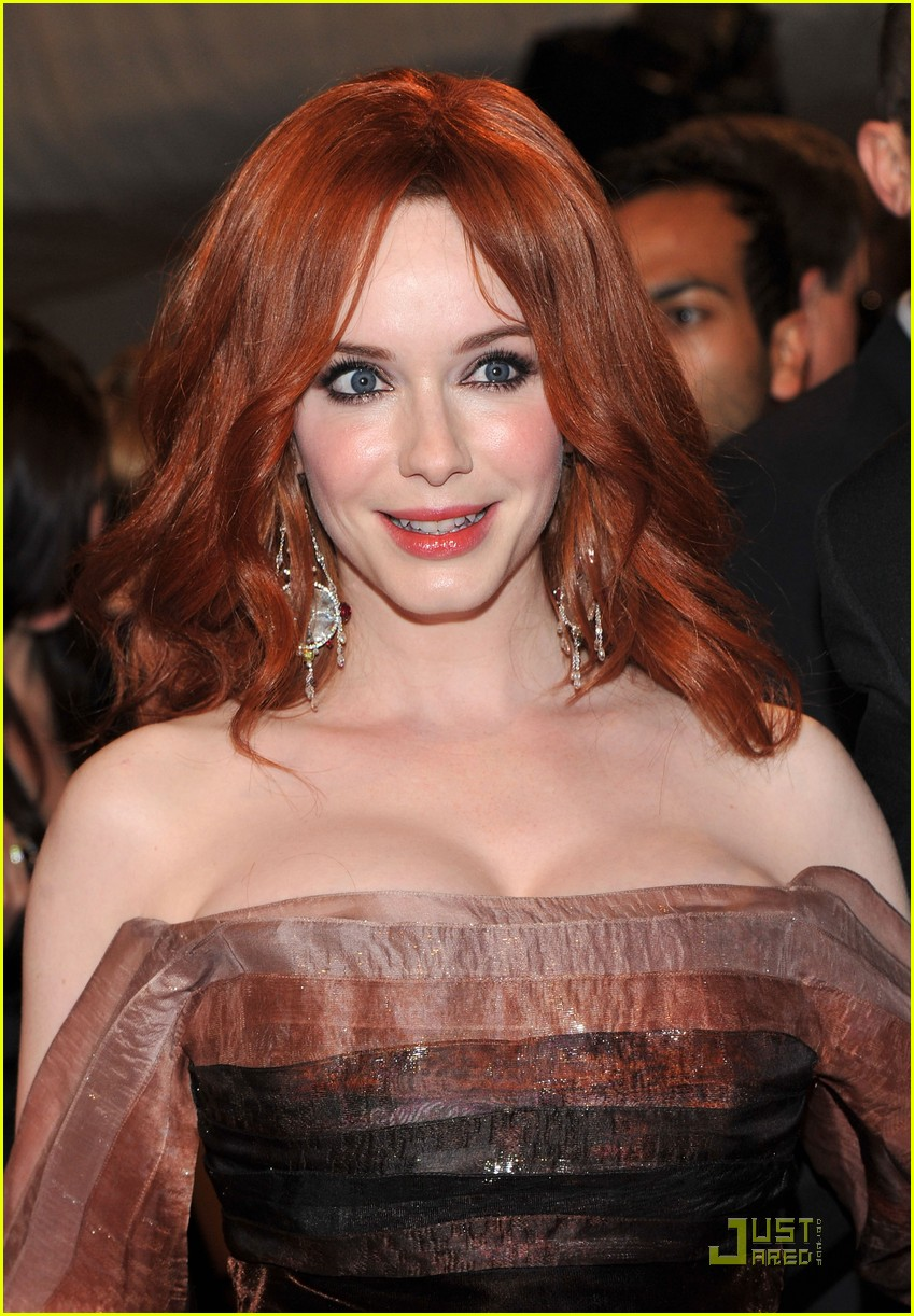christina hendricks met ball 2011 01