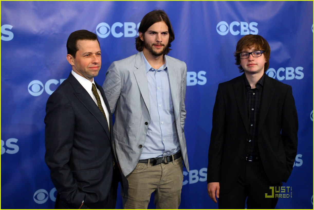Ashton Kutcher   Two and a Half Men  at the Upfronts Ashton Kutcher 2013 Two And A Half Men