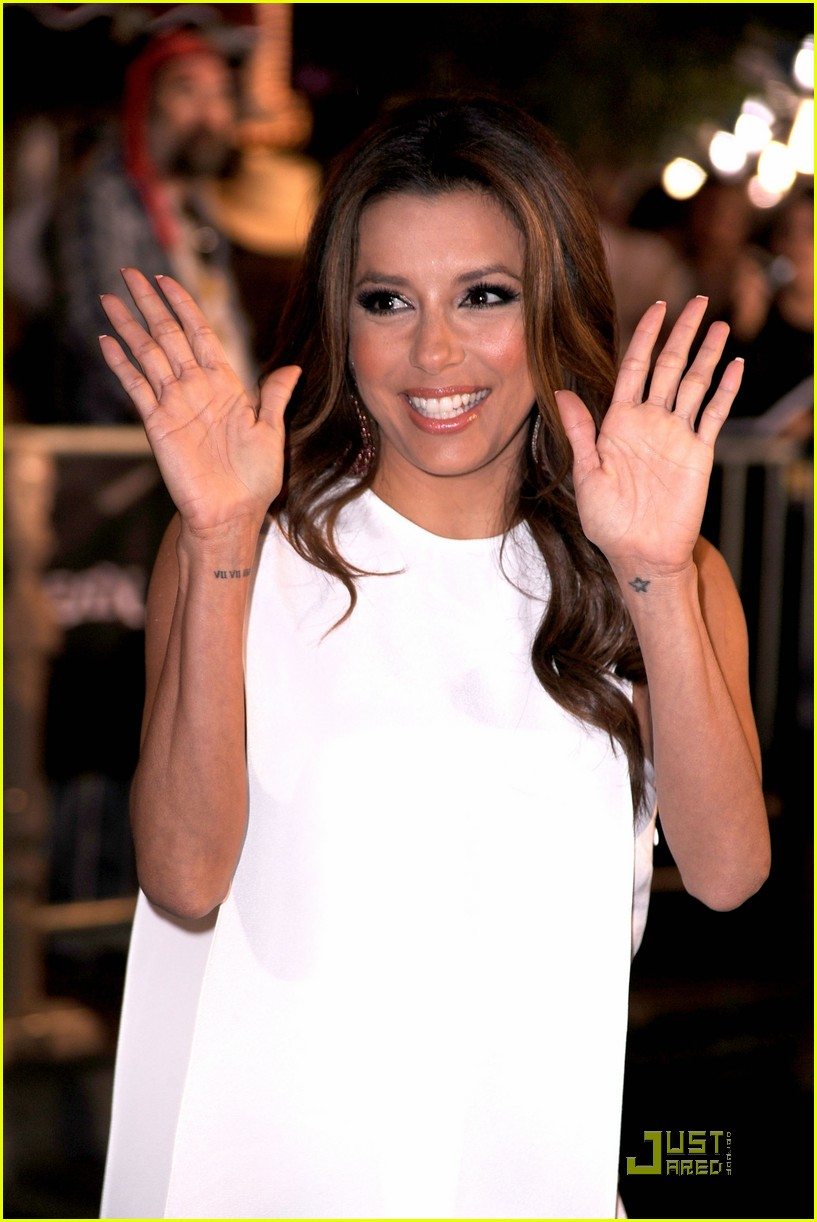 eva longoria pirates of the caribbean premiere 02