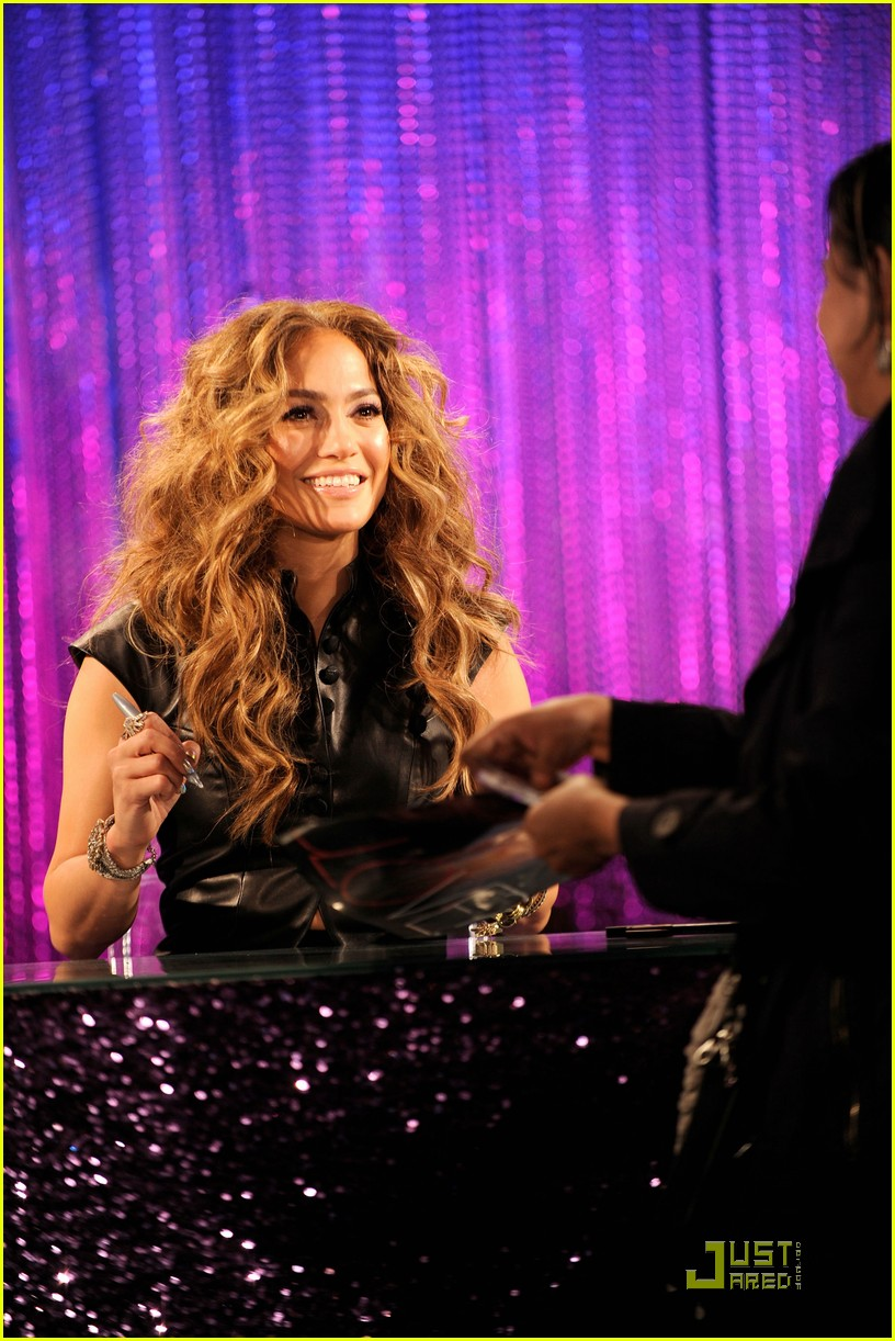 jennifer lopez love cd signing 08