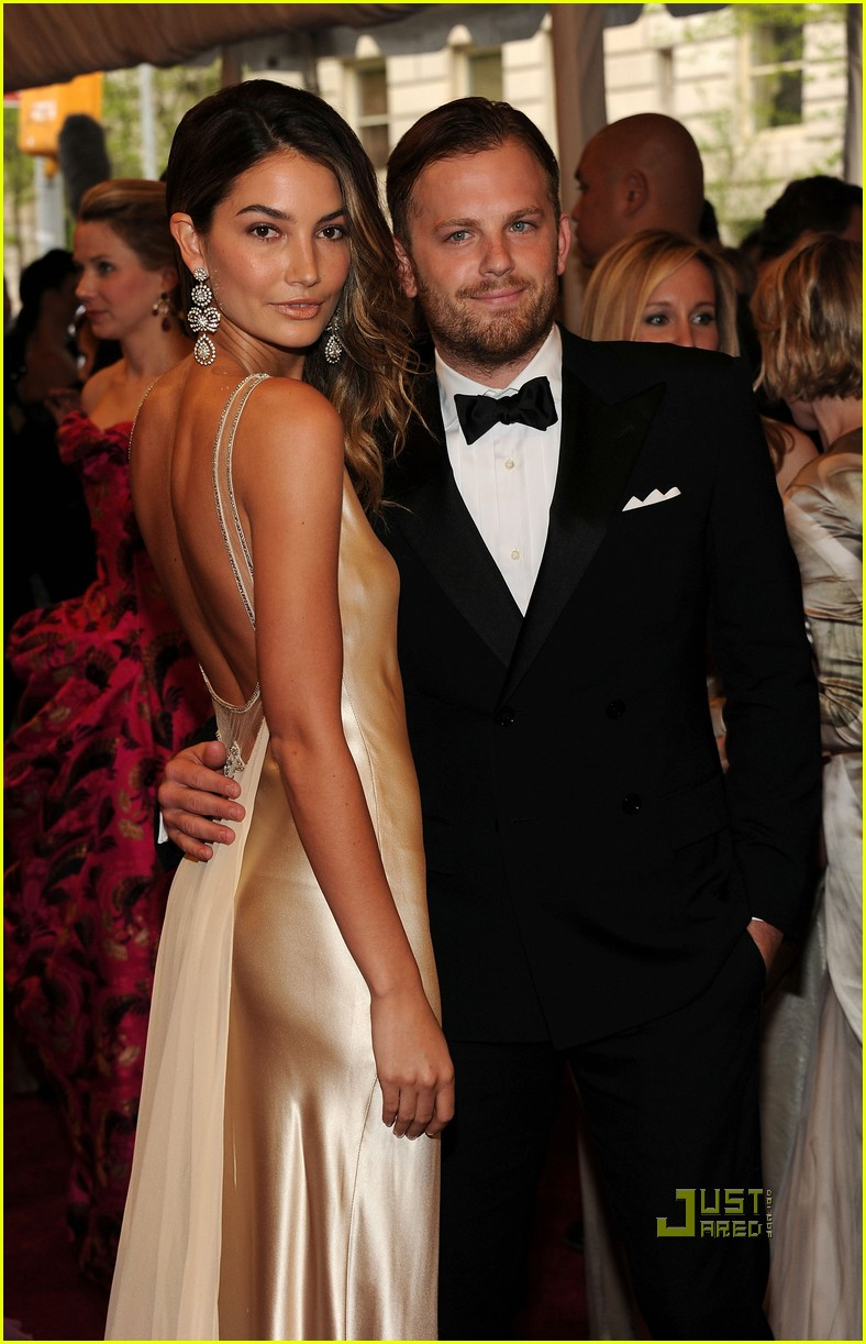 caleb followill met ball lily aldridge 09