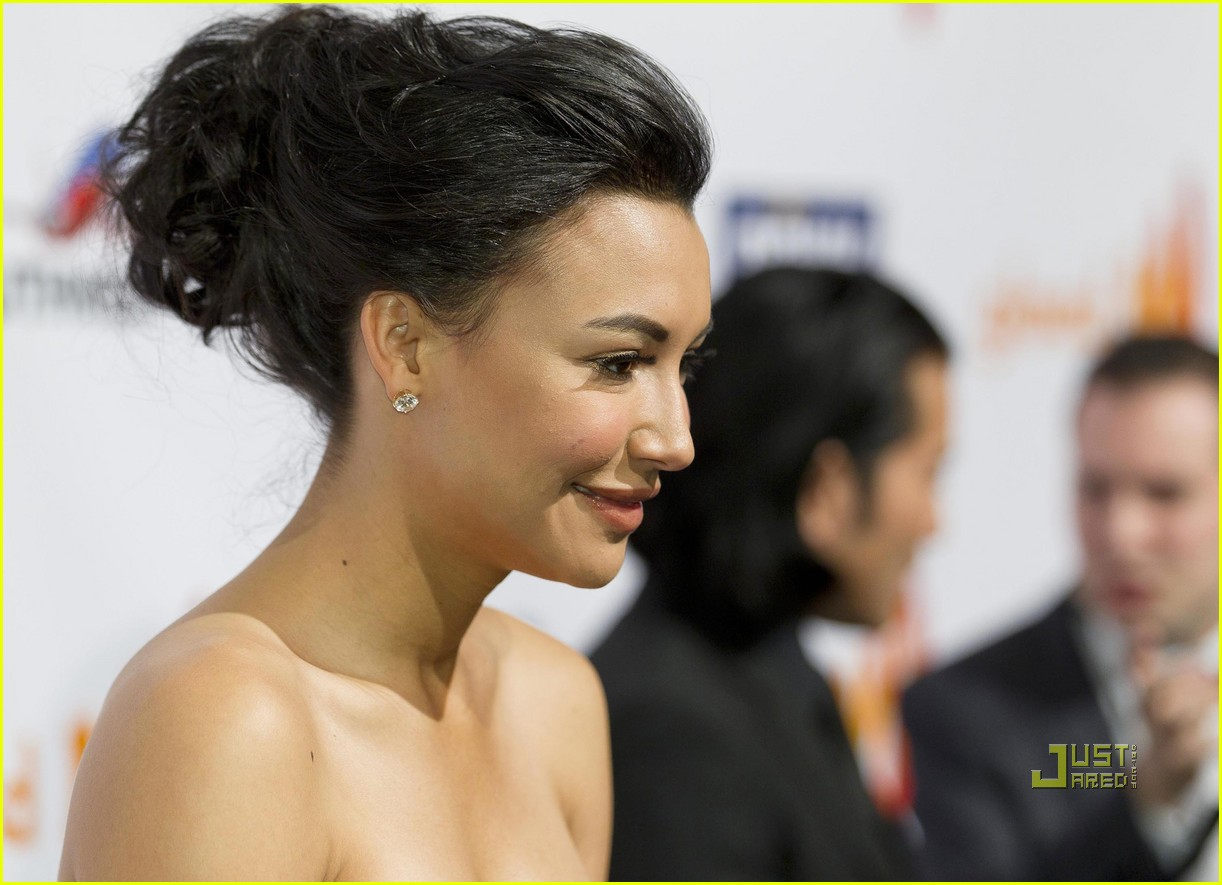 naya rivera kim cattrall glaad media awards 152544198