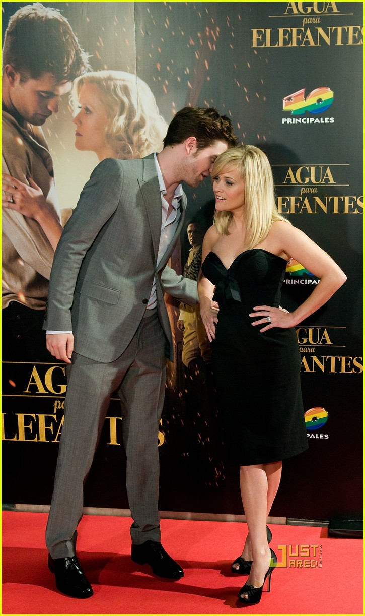 reese witherspoon spain robert pattinson water for elephants 04