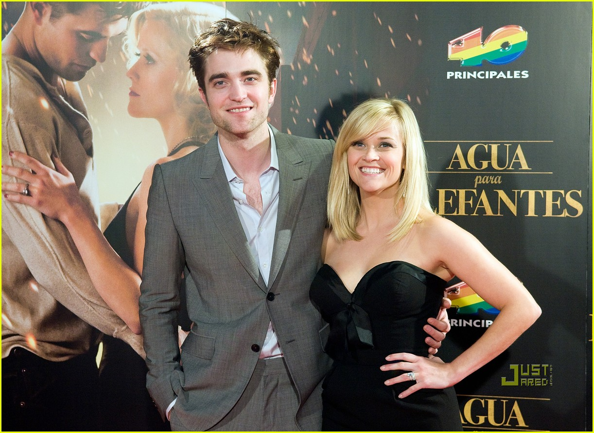 reese witherspoon spain robert pattinson water for elephants 16