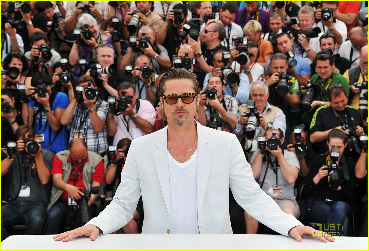 brad pitt cannes tree of life 33