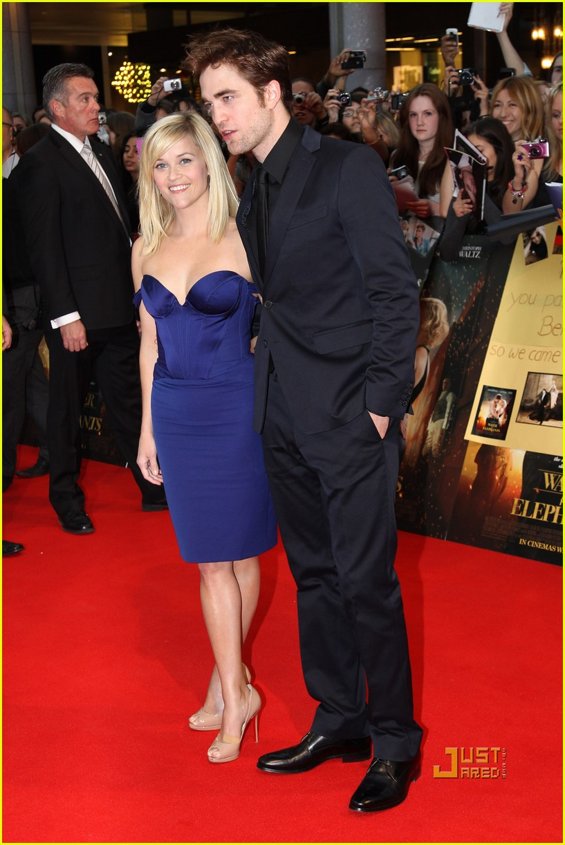 reese witherspoon water for elephants premiere uk robert pattinson 01