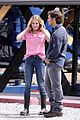 leann rimes pink shirt set reel love 06