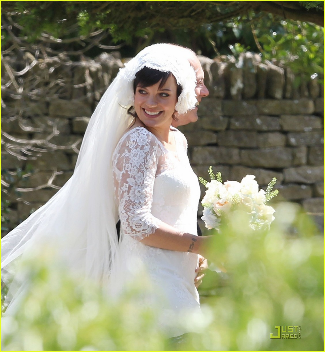 lily allen sam cooper wedding 04
