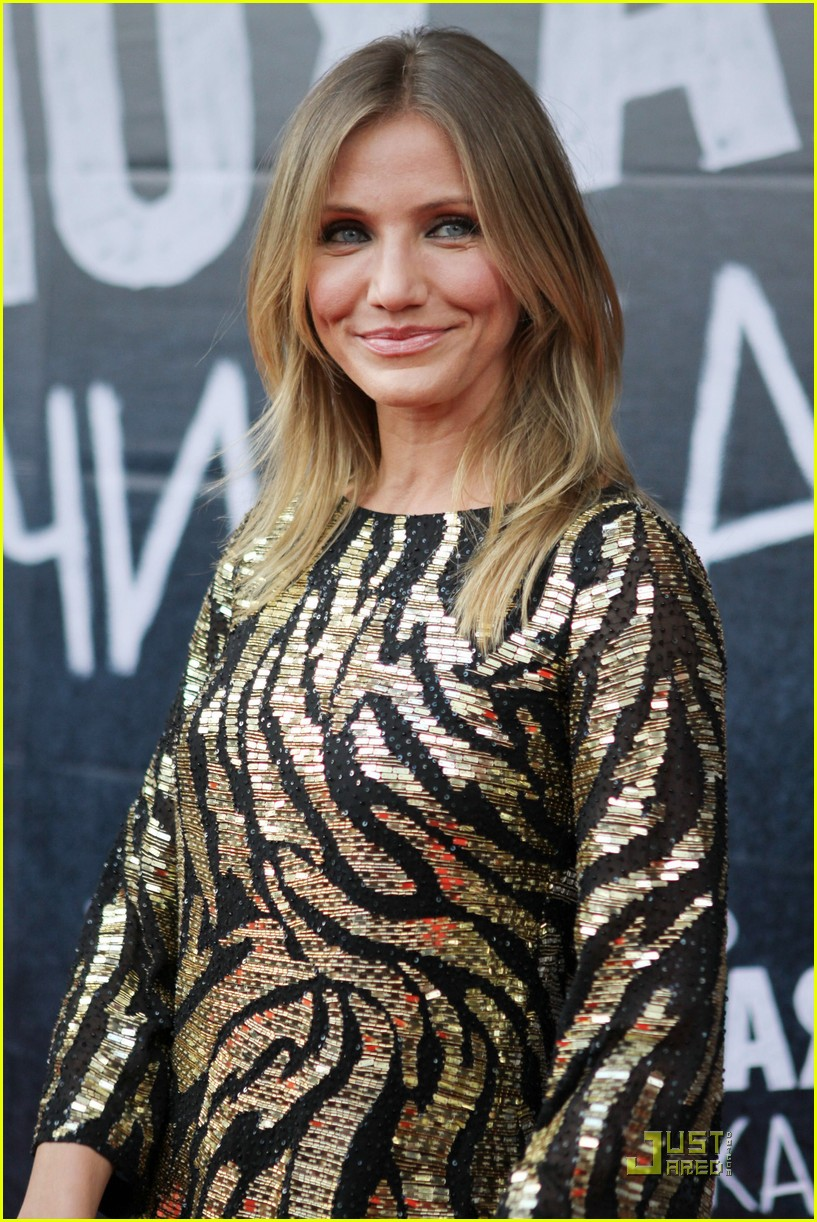 cameron diaz bad teacher london 06