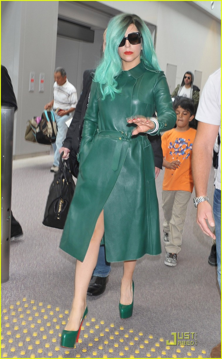 lady gaga arrives in japan 112554406