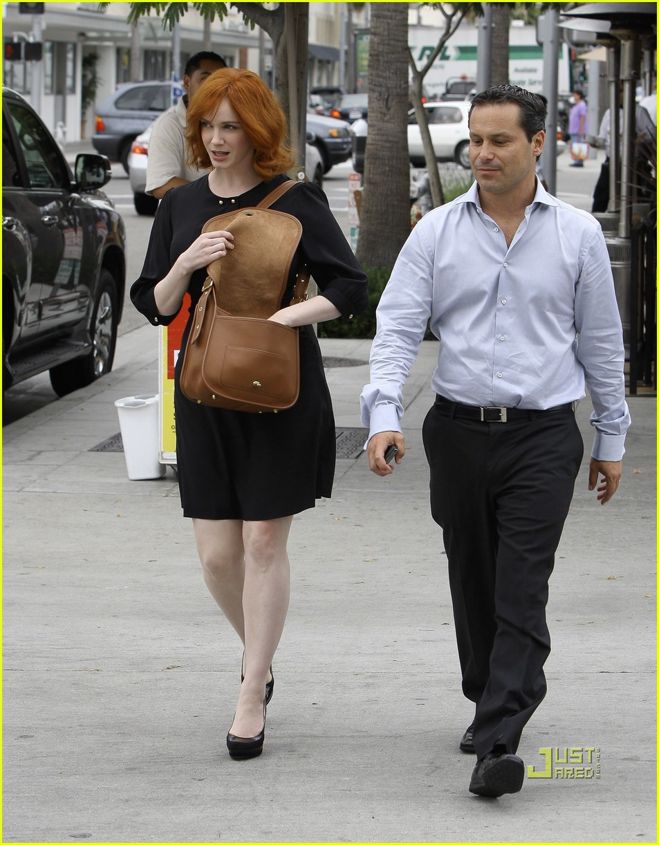 christina hendricks friend beverly hills 07