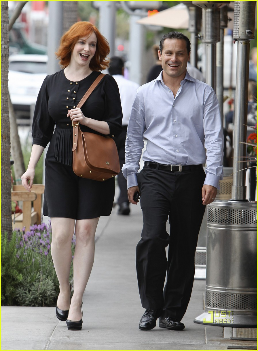 christina hendricks friend beverly hills 14