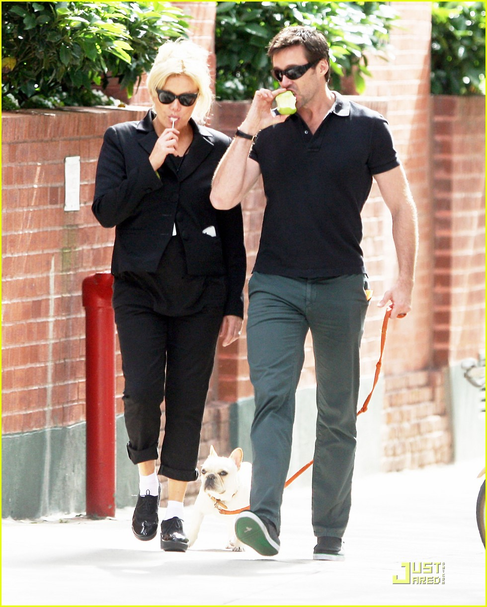 hugh jackman deborra lee furness dog 01