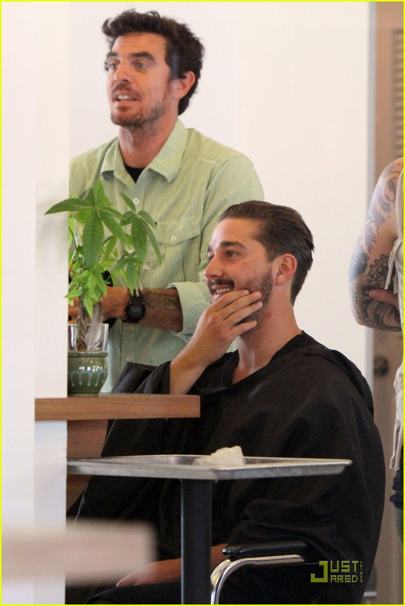 Shia LaBeouf: Hair Salon Stop Shia Labeouf