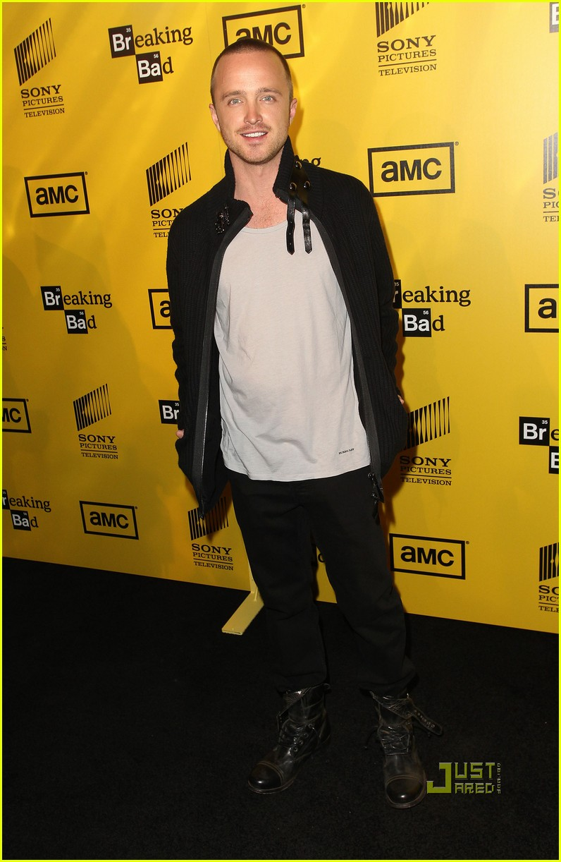 aaron paul breaking bad season 4 premiere 02