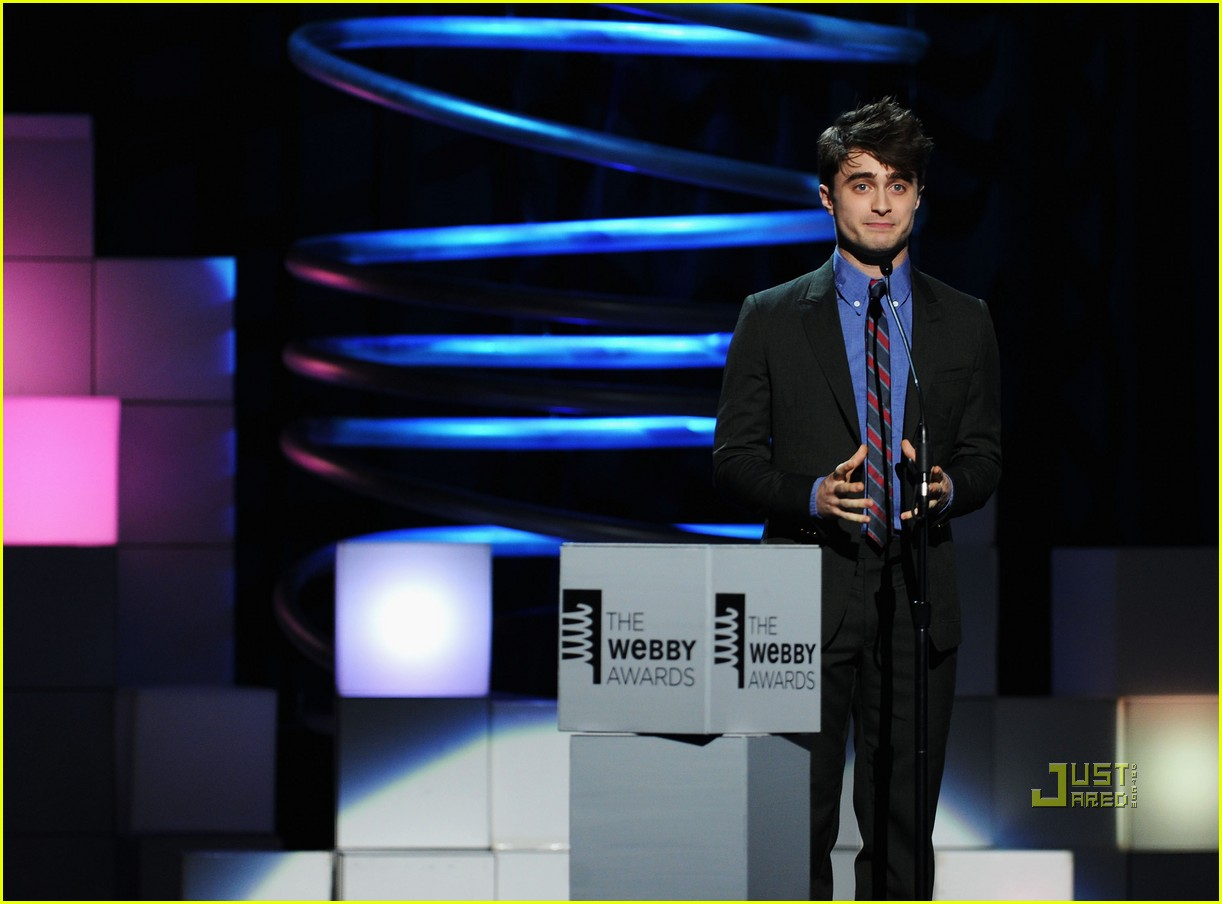 daniel radcliffe webby awards 04
