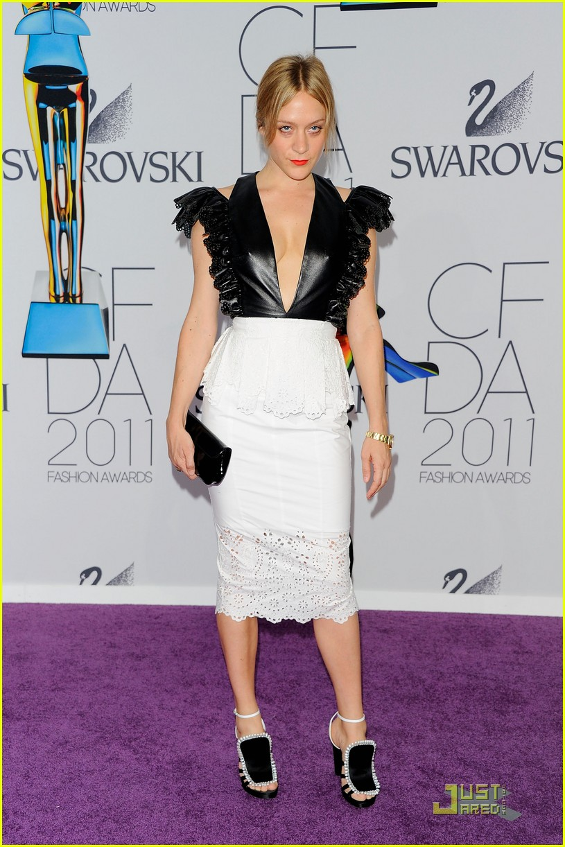 chloe sevigny cfda awards 01