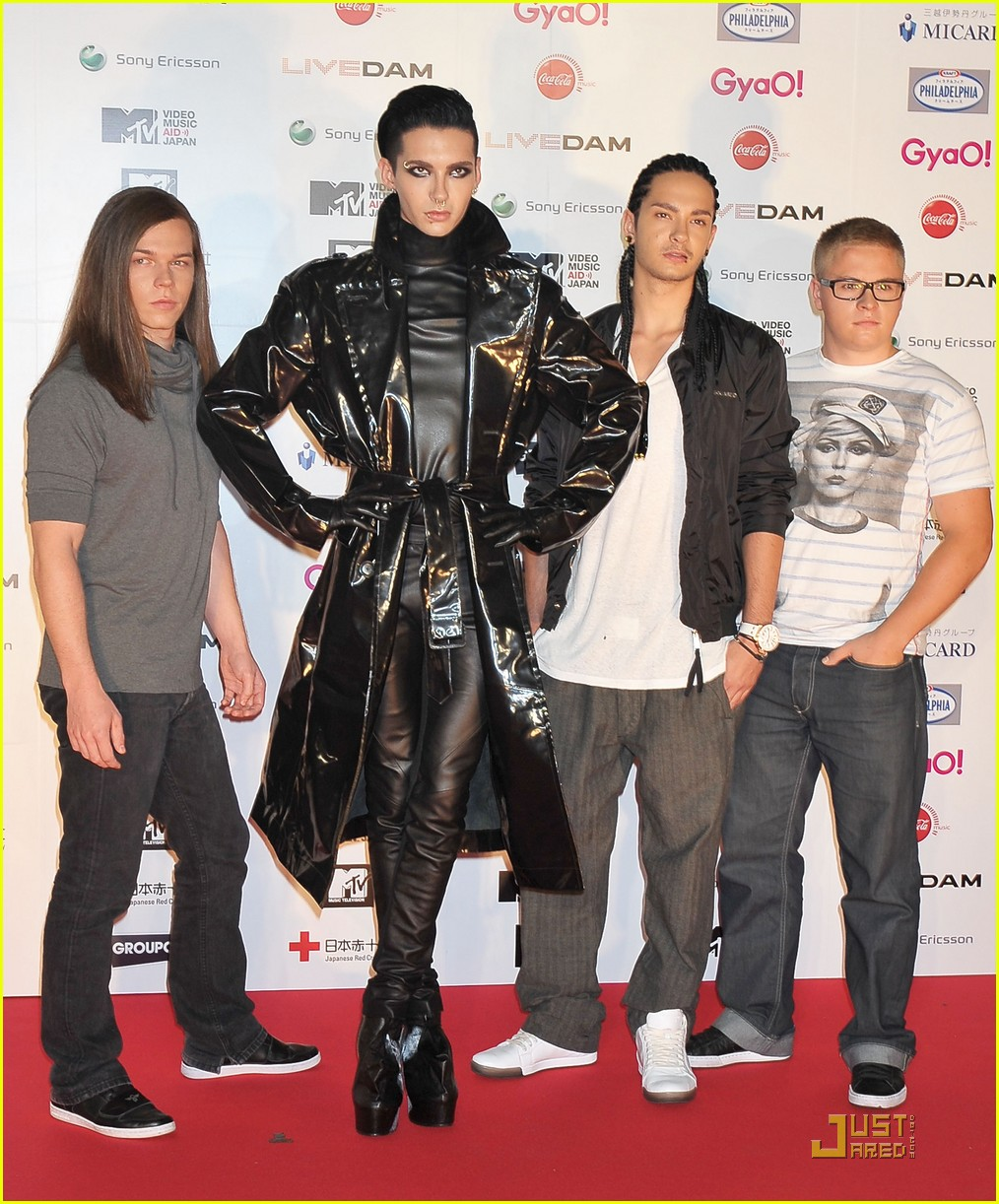tokio hotel mtv video music aid performance 03