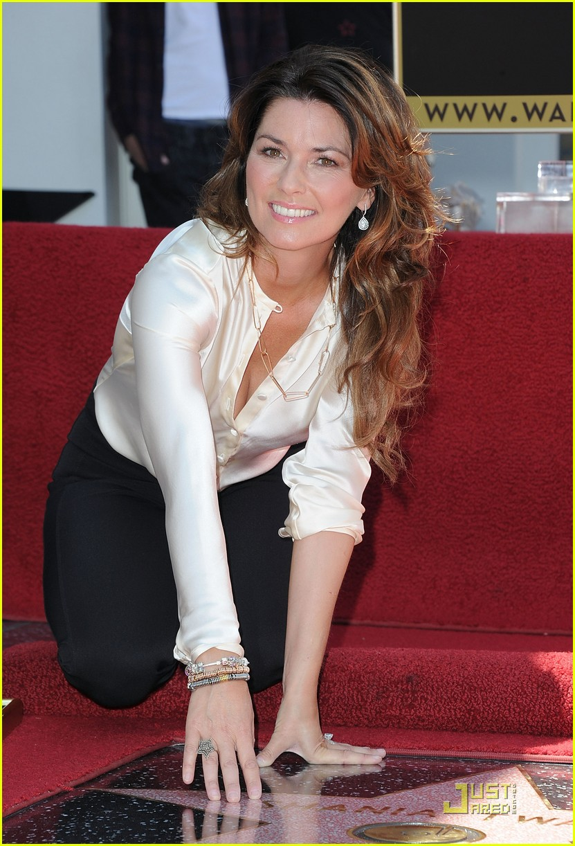 shania twain walk fame 04